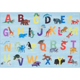 "Eric Carle Elementary Area Rug 36"" x 55"" (Assorted Themes)"