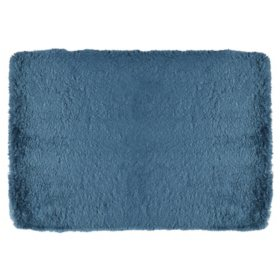 Spa Retreat Memory Foam Bath Rug (Assorted Colors)