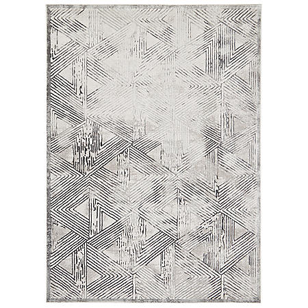 "Christian Siriano New York Jersey Area Rug Collection, 5' 2"" x 7' 2"", Assorted Colors"