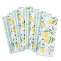 Martha Stewart Kitchen Towels, 8 Pack (Assorted Designs)