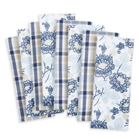 Martha Stewart Kitchen Towels, 8 Pack (Assorted Designs)