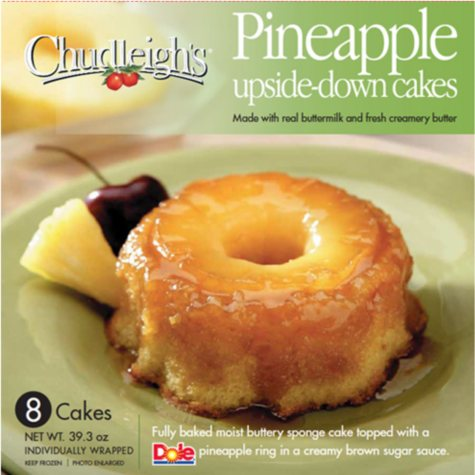 Chudleigh's Pineapple Upside-Down Cakes - 8 ct. - 39.3 oz.