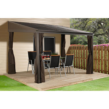 Sojag Portland Wall Mounted Gazebo Choice Of Size Sam S
