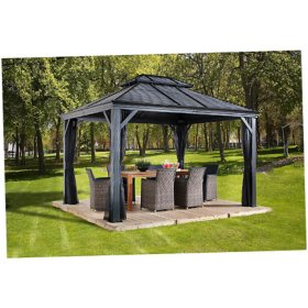Sojag Mykonos II Sun Shelter, Assorted Sizes