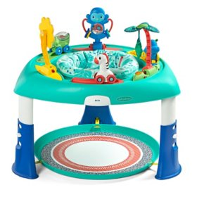 Infantino 2-in-1 Sit, Spin-and-Stand Entertainer and Activity Table