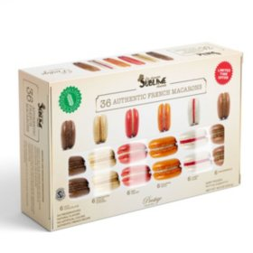 Sublime Desserts Authentic French Macarons, Frozen (36 ct.)