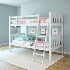 Apollo Snow White Bunk Bed  (Choose Size)