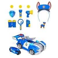 PAW Patrol, Ultimate Chase 12-Piece Fan Gift Pack with 2-in-1 Transforming Toy Car and Pretend Play Accessories