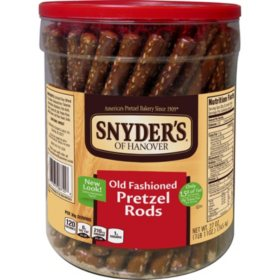 Snyder's of Hanover Old Fashioned Pretzel Rods (27 oz., 6 ct.)