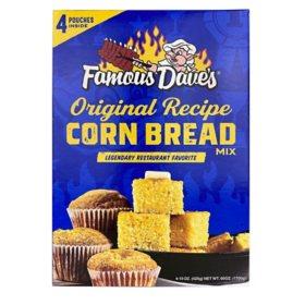Famous Dave's Corn Bread Mix (15 oz., box 4 ct.)