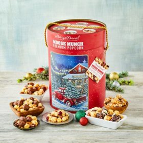 Moose Munch Red Truck Tree Farm