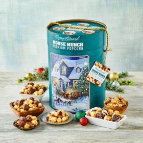Moose Munch Green Sleigh Winter Home