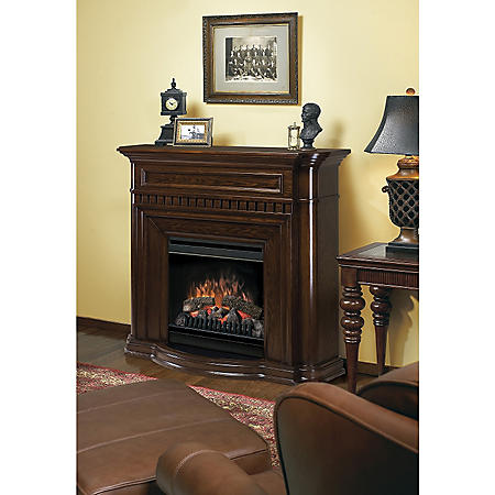 Dimplex Breton Compact Electric Fireplace Nutmeg Sam S Club