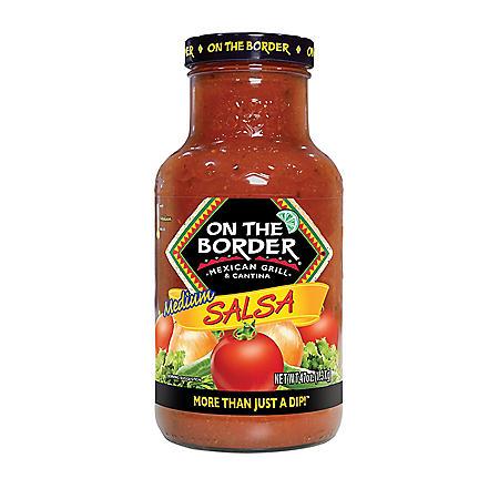 On The Border Salsa, Medium (47 oz.)