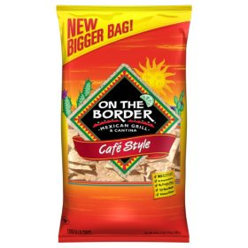 On The Border Cafe Style Tortilla Chips (28 oz.)