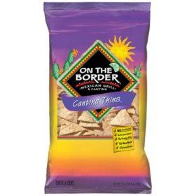 On The Border Cantina Thins Tortilla Chips (24 oz.)