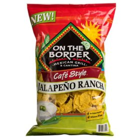 On The Border Cafe Style Jalapeno Ranch Tortilla Chips (20 oz.)