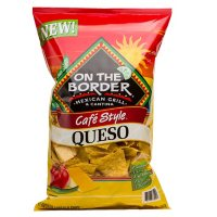 On The Border Café Style Queso Flavored Tortilla Chip (20 oz.)
