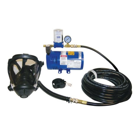 SAS One-Man Opti-Fit Full Face Supplied Air System - 1 ct.