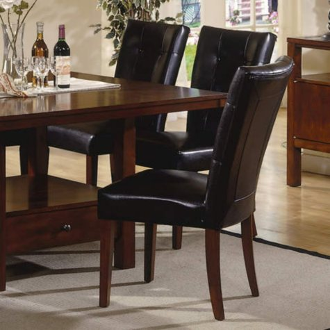Tay Faux Leather Side Chair - 2 pk.