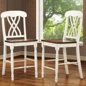 Fletcher Counter Height Dining Chairs (2 pk) (Choose a Color)