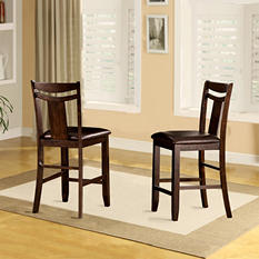 """Marcey Counter Height24"""" Chair (2 pk)"""