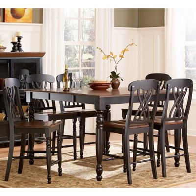 Fletcher Counter Height Dining Table Choose A Color Sam S Club