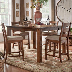 Malden 7-Piece Counter Height Dining Set