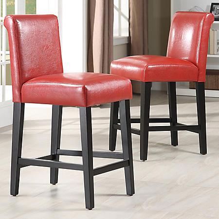 "Fenton 24"" Chair (2 pk) (Choose a Color)"