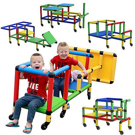 Life-size construction toys