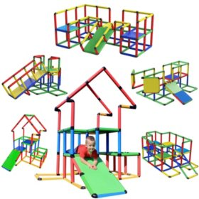 Funphix Create and Play Life Size Structures, Jumbo Set