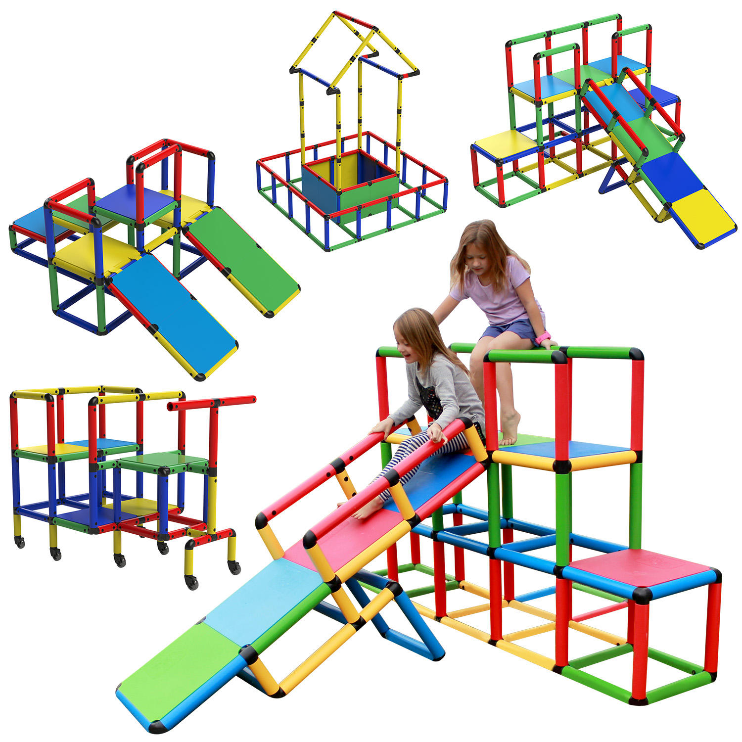 Funphix Create and Play Life Size Structures, The All-in-1