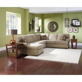 Cool Lane Furniture Joyner 3 Piece Sectional Sofa Sams Club Gmtry Best Dining Table And Chair Ideas Images Gmtryco