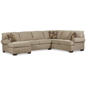 Pleasing Lane Furniture Joyner 3 Piece Sectional Sofa Sams Club Gmtry Best Dining Table And Chair Ideas Images Gmtryco