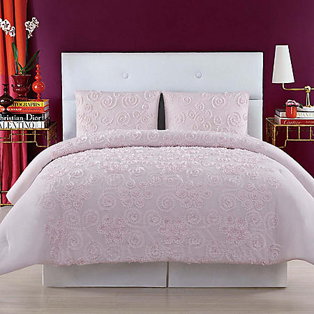 Christian Siriano New York Pretty Petals Duvet Set (Assorted Colors and Sizes)