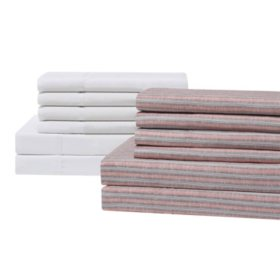 Brooklyn Loom 8-Piece Sheet Sets (Assorted Colors And Sizes)