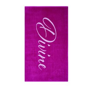 "Christian Siriano Oversized Jacquard Beach Towels, 40"" x 72"" (Assorted Styles)"