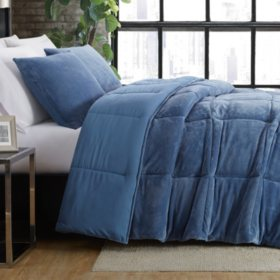 London Fog Reversible Comforter Set (Assorted Colors and Sizes)