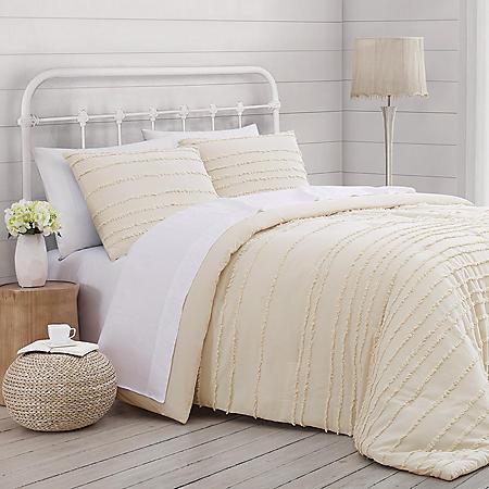 Prairie by Rachel Ashwell Textured Stripe Comforter Set