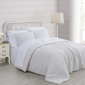 Prairie by Rachel Ashwell Quilted Top Comforter Set  (Assorted Colors)