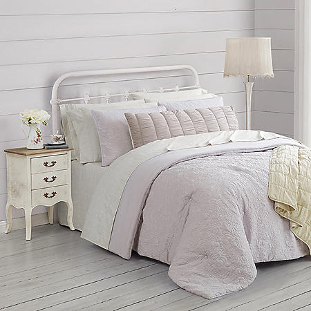 Farmhouse by Rachel Ashwell 8-Piece Garment Washed Sheet Set (Assorted Colors and Sizes)