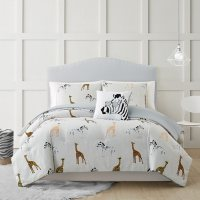 Christian Siriano New York Kids' Collection Cool Safari Bedding Set