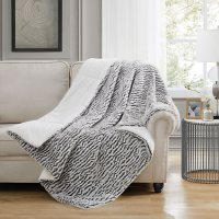 Christian Siriano New York Faux Fur Oversized Throws (Assorted Colors)