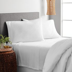 Farmhouse by Rachel Ashwell Cotton Rich Jersey Knit Sheet Sets (Assorted Colors and Sizes)