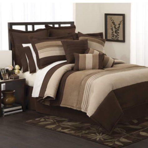 Peyton Place Comforter Set King Size - 16pc