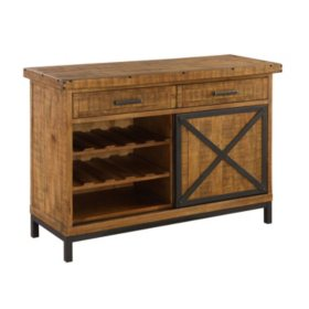 Chandler Buffet, Rustic Brown