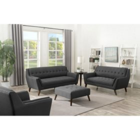 Binetti 4-Piece Living Room Set (Assorted Colors) - Sam\'s Club