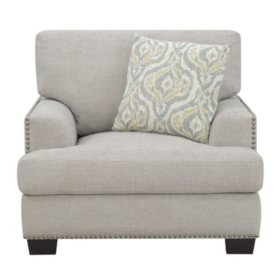 Kinsley Accent Chair, Driftwood