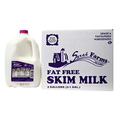 Sarah Farms Fat Free Skim Milk (1 gal., 2 ct.)