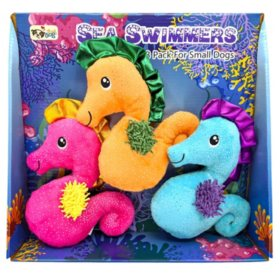 Think Dog Sea Swimmers Dog Toy (Choose Your Size)